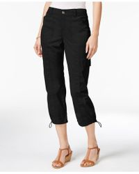 Style & Co. - Cargo Capri Trousers - Lyst