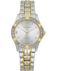 Charter Club - Women's Two-tone Bracelet Watch - Lyst