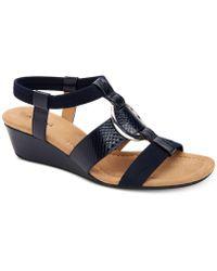 Alfani - Vennice Wedge Sandals, Created For Macy's - Lyst