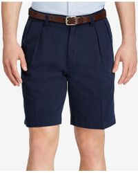 Polo Ralph Lauren | Classic-fit Pleated Chino Shorts | Lyst
