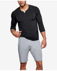 Under Armour - Athletic Recovery Henley Top - Lyst