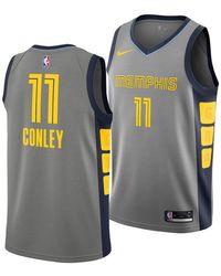 3095f0dec17 Nike - Mike Conley Jr. Memphis Grizzlies City Swingman Jersey 2018 - Lyst