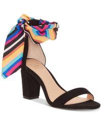 402d69f272e Lyst - INC International Concepts I.n.c. Lamia Block-heel Sandals ...