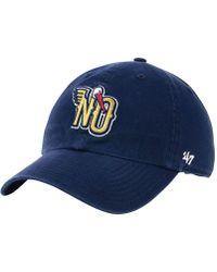 47 Brand - New Orleans Pelicans Mash Up Clean Up Cap - Lyst