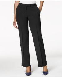 Kasper - Tab-waist Trouser Pants - Lyst