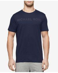 Michael Kors - Men's Logo Cotton Pajama Top - Lyst