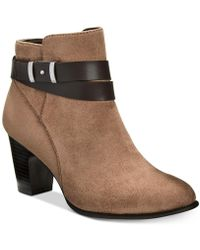 Giani Bernini | Women's Leather Booties | Lyst