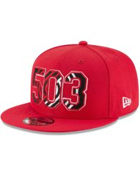 cbf40e7e6e843a KTZ Portland Trail Blazers Logo Mural Snap 9fifty Cap in Black for Men -  Lyst