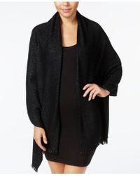Calvin Klein - Lurex® Twill Evening Wrap - Lyst