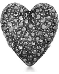 Steve Madden - Statement Heart Ring - Lyst