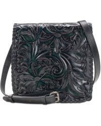 Patricia Nash - Granada Burnished Tooled Leather Crossbody - Lyst