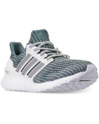 63cef6cba Lyst - Adidas Ultra Boost Running Sneakers From Finish Line in Gray ...