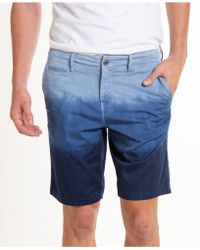 Original Paperbacks - Ombre Bridgeport Cotton Stretch Chino Short - Lyst