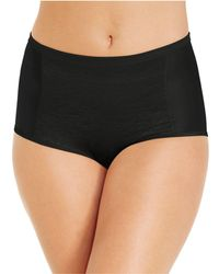 Vanity Fair - Smoothing Comfort Brief Body Caress Lace Brief 13262 - Lyst