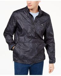 Tommy Bahama - Frond-print Popover Jacket - Lyst
