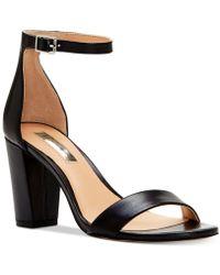 INC International Concepts - Kivah Block Heel Dress Sandals - Lyst