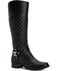 Charter Club - Helenn Wide-calf Riding Boots, Created For Macy's - Lyst
