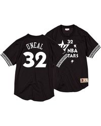 low priced e1404 af3fd Mitchell   Ness Shaquille O neal Orlando Magic Hardwood Classic Swingman  Jersey in Black for Men - Lyst