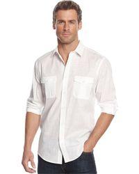 Alfani - Long-sleeve Warren Shirt - Lyst