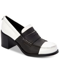 4ee6db51218 Lyst - Calvin Klein Geneve Box Closed Casuals in Black