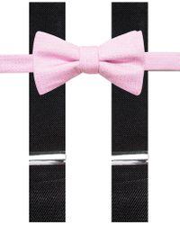 Alfani - Men's Mars Speckled Pre-tied Bow Tie And Suspender Set - Lyst