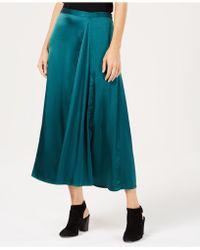 Eileen Fisher - Silk Godet Skirt - Lyst