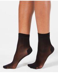 DKNY - Sheer Anklet Trouser Socks - Lyst