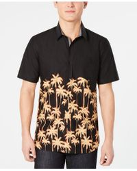 0a99ba0c061 Lyst - American Rag Deija Shirt in Black for Men