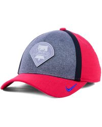 efa362c2f58 Nike - Philadelphia Phillies Team Color Reflective Swooshflex Cap - Lyst