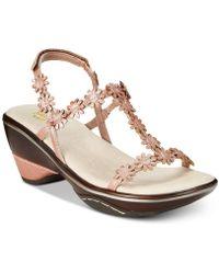 Jambu - Cybill Floral Strap Sandals - Lyst