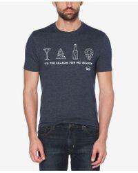 Original Penguin - Tis The Season Graphic T-shirt - Lyst