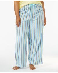 Hue - Plus Size Printed Knit Pyjama Trousers - Lyst