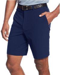 """Cutter & Buck - 9"""" Drytec Bainbridge Flat Front Shorts - Lyst"""