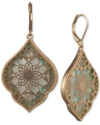Lonna & Lilly - Classic Drop Earrings - Lyst