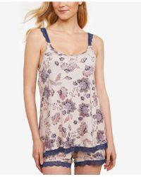 2b6785f1fd Jessica Simpson - Maternity Nursing Pajama Set - Lyst