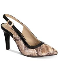 Rialto - Mateo Pointed-toe Slingback Court Shoes - Lyst