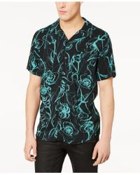 Guess - Floral Glow Shirt - Lyst