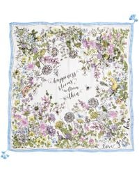 INC International Concepts - I.n.c. Garden Poem Square Scarf, Created For Macy's - Lyst