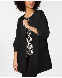 Alfani - Lace-cuff Jacket, Created For Macy's - Lyst