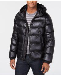 Calvin Klein - Slim-fit Hooded Water Resistant Down Jacket - Lyst