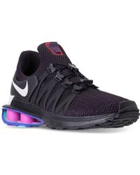 Nike - Shox Gravity Casual Sneakers From Finish Line - Lyst
