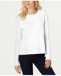 French Connection - Cotton Le Sweatshirt - Lyst