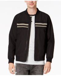 American Rag - Chest-stripe Bomber Jacket, Created For Macy's - Lyst