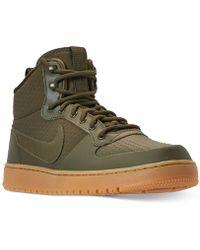 388e11e7ff4 Nike - Ebernon Mid Winter Casual Sneakers From Finish Line - Lyst