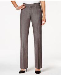 Lee Platinum - Petite Straight-leg Trousers - Lyst