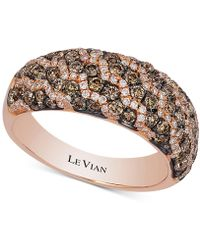 Le Vian - Diamond Pavé Ring (1-1/5 Ct. T.w.) In 14k Rose Gold - Lyst