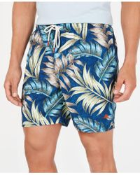 "Tommy Bahama - Naples Parque Palms 6"" Swim Trunks - Lyst"