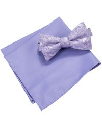 Countess Mara | Men's Lyons Floral Bow Tie & Pocket Square Set | Lyst