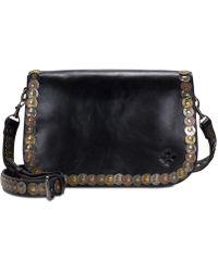 Patricia Nash   Studded Coin Vitellia Small Flap Bag   Lyst