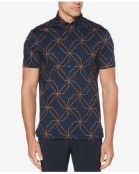 Perry Ellis - Kaleidoscope Printed Classic Fit Shirt - Lyst